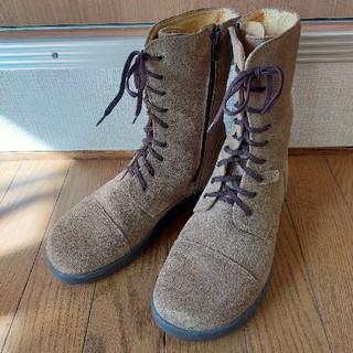 ビルケンシュトック(BIRKENSTOCK)のビルケンシュトック footprints 38 レースアップブーツ(ブーツ)