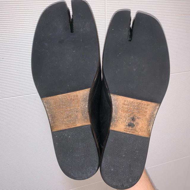 20ss maison margiela バブーシュ 足袋スリッポン メンズの靴/シューズ(スリッポン/モカシン)の商品写真