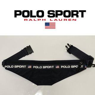 POLO RALPH LAUREN - 90s POLO SPORT ウエストポーチ ウエストバッグ ポロスポーツ 貴重