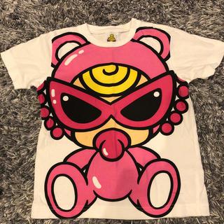 ヒステリックミニ(HYSTERIC MINI)の⑤テディT(Tシャツ/カットソー)