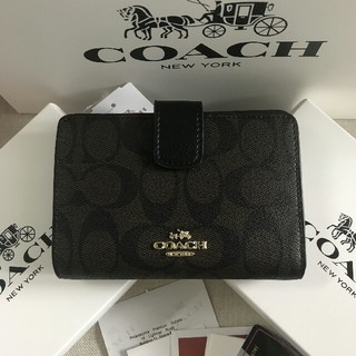 COACH - 新品COACH コーチ 二つ折り財布 F53462正規品 アウトレット