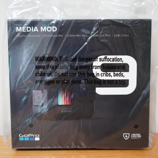 GoPro(ゴープロ)の新品 GoPro ゴープロ Media Mod HERO9 メディア モジュラー スマホ/家電/カメラのカメラ(コンパクトデジタルカメラ)の商品写真