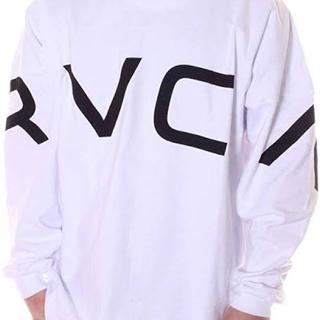 ルーカ(RVCA)のrvca ルーカ ロンT ホワイト Sサイズ(Tシャツ/カットソー(七分/長袖))