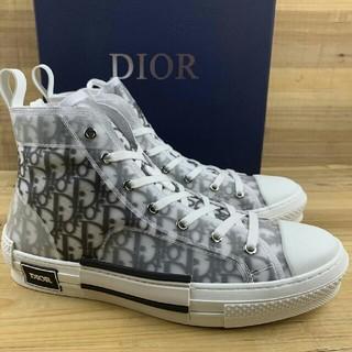 Dior - Dior B23 Oblique High Top Sneakers28cm