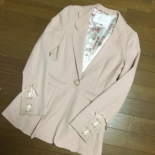 リズリサ(LIZ LISA)のリズリサ♡ピンクジャケット(テーラードジャケット)
