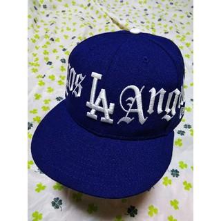 NEW ERA - NEWERA キャップ ドジャース 刺繍 LA シュプリーム カスタム ブルー