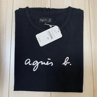 agnes b. - 新品未使用 アニエスベー  Tシャツレディース ブラック Lサイズ