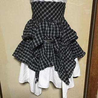 アトリエボズ(ATELIER BOZ)の編み上げスカート ATELIER BOZ(ひざ丈スカート)