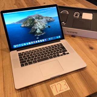 Mac (Apple) - 美品1TB MacBook pro retina 15インチ Late2013
