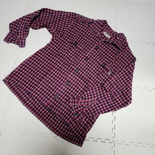 ベベ(BeBe)のBIN´S BEBE チェックシャツ170(ブラウス)