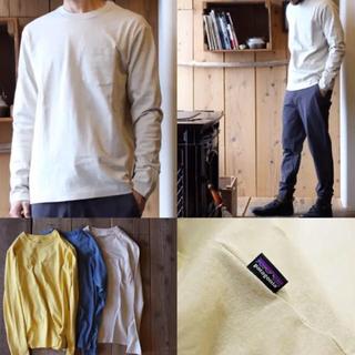patagonia - パタゴニア オーガニックコットン ポケット ロングスリーブ Tシャツ 完売カラー