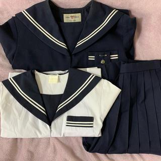 コスプレ等に 中学制服 セーラー服 3点セット(その他)