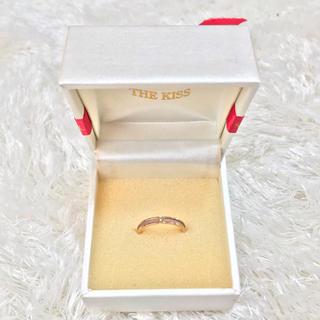 ザキッス(THE KISS)のThe kiss  ピンクゴールド リング 指輪(リング(指輪))