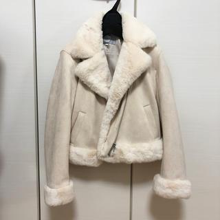 Rirandture - 美品 リランドチュール フェイクファーライダースジャケット