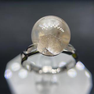 方解石インクォーツ   リング 天然石(リング(指輪))