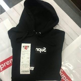 Supreme - 新品preme ×comme des garon boxlogo hoodie