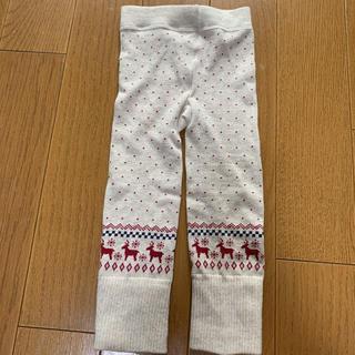 MUJI (無印良品) - レギンス 80〜90cm