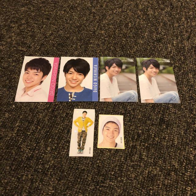 ジャニーズJr.(ジャニーズジュニア)の西畑大吾 データカード シール エンタメ/ホビーのタレントグッズ(アイドルグッズ)の商品写真
