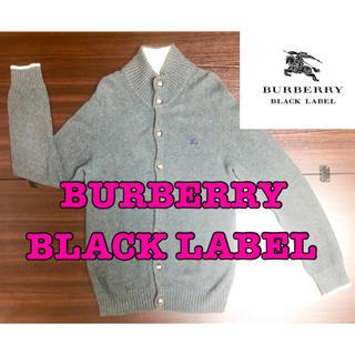 バーバリーブラックレーベル(BURBERRY BLACK LABEL)のバーバリーブラックレーベル ニットカーデガン(カーディガン)