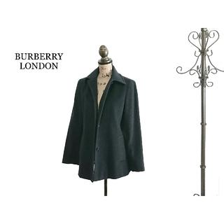 バーバリー(BURBERRY)の上質 BURBERRY LONDON バーバリー コート  ダークグレー(ロングコート)