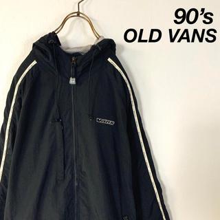 VANS - 90's OLD VANS サイドロゴ ビッグシルエット マウンテンパーカー