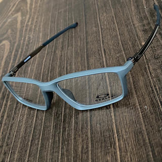 Oakley - オークリー チャンバー チタン メガネ フレーム 眼鏡  スポーツ グレー