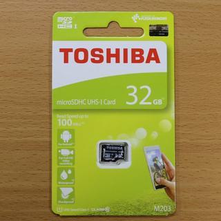 東芝 - TOSHIBA 東芝 microSD 32GB / 高速100MB/s 読込