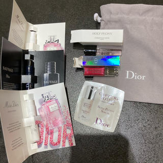 Christian Dior - 新品・未使用・未開封/Dior リップ グロス 香水 美容液 など サンプル