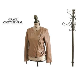 グレースコンチネンタル(GRACE CONTINENTAL)のGRACE CONTINENTAL グレースコンチネンタル レザージャケット(ライダースジャケット)