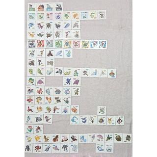 ポケモン(ポケモン)のポケモンパンデコキャラシール ④ 第125~140・142・165・166弾(シール)