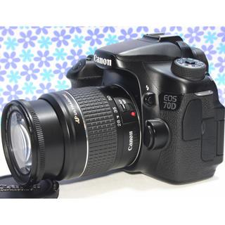 キヤノン(Canon)の極美品❤️Canon EOS 70D❤️Wi-Fi機能搭載❤️高画質❤️動画撮影(デジタル一眼)