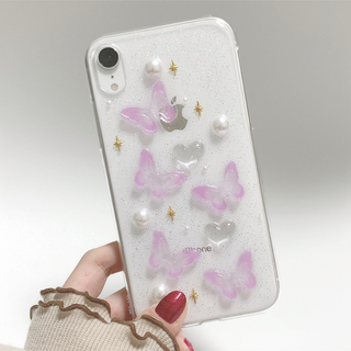 2color butterfly iPhone case