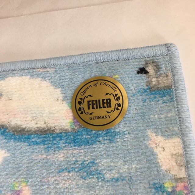 FEILER(フェイラー)の新品★フェイラー LOVERARY ハンカチタオル★キュクノス白鳥 レディースのファッション小物(ハンカチ)の商品写真