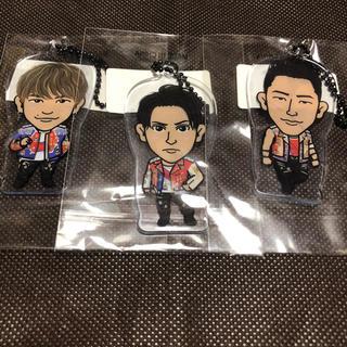 サンダイメジェイソウルブラザーズ(三代目 J Soul Brothers)の3代目J SOUL BROTHERS クリアチャーム 3個セット(ミュージシャン)