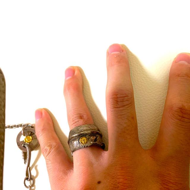 goro's(ゴローズ)のtady&king  フェザーリング メンズのアクセサリー(リング(指輪))の商品写真