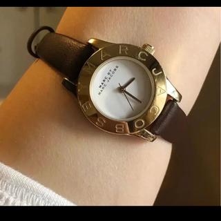 マークバイマークジェイコブス(MARC BY MARC JACOBS)のマークバイマークジェイコブス 腕時計 美品 稼働中 新品ベルト(腕時計)