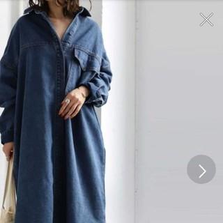 アンティカ(antiqua)のデニムのコート 上着(ロングコート)