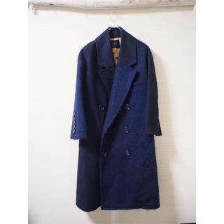 【UNDERCOVER】mohair switching coat