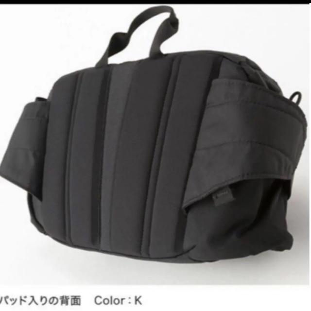 THE NORTH FACE(ザノースフェイス)の【未開封新品】ノースフェイス ボディーバッグ 5L 黒色 男女兼用 SPINA メンズのバッグ(ボディーバッグ)の商品写真