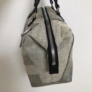 DIESEL - ディーゼル ジッパーデザイン ハンドバッグ追加画像