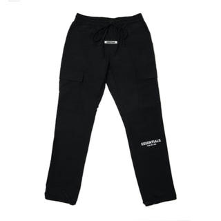 フィアオブゴッド(FEAR OF GOD)のFOG Essentials Nylon Pants ブラック(ワークパンツ/カーゴパンツ)