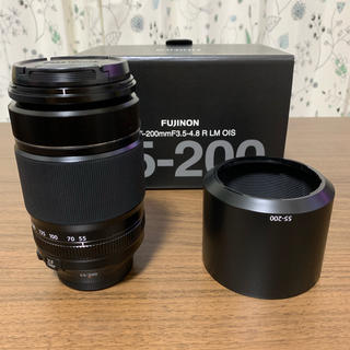 富士フイルム - FUJIFILM レンズ XF55-200mmF3.5-4.8 R LM OIS