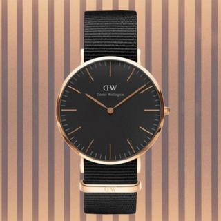 ダニエルウェリントン(Daniel Wellington)の保証付き【40㎜】ダニエルウエリントン 腕時計〈DW00100148〉(腕時計(アナログ))