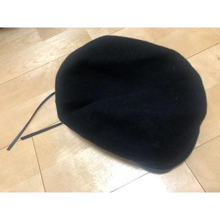ハレ(HARE)のHARE ハレ ベレー帽 ブラック(ハンチング/ベレー帽)