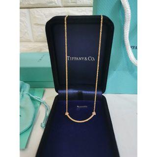 Tiffany & Co. - Tiffany & Co. ティファニー Tスマイルネックレス