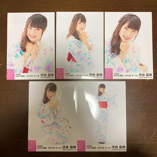 NMB48 - 【超美品】NMB48渋谷凪咲 netshop限定 公式生写真 2015.8