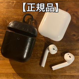 Apple - 【正規品】AirPods 2 with charging case 【美品】