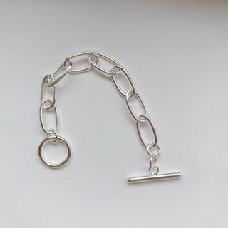 TODAYFUL - 即納_Silver925_Oval chain bracelet