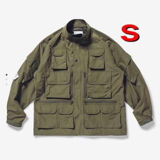 W)taps - 20aw wtaps modular jacket nico tussah