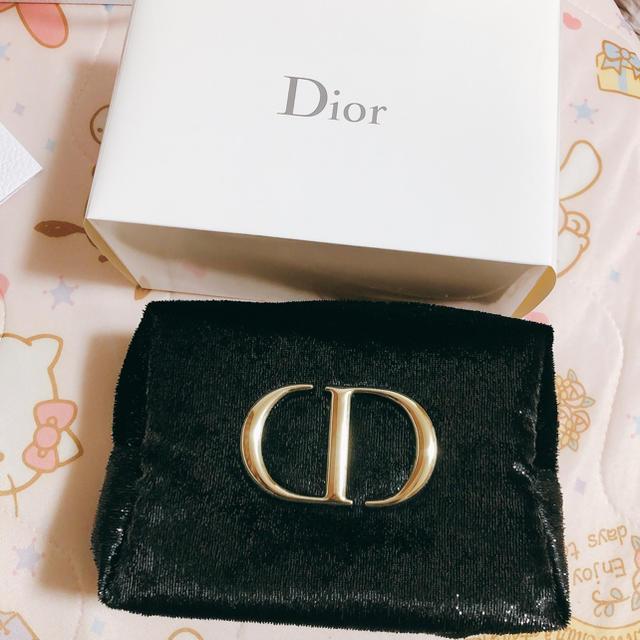 Dior(ディオール)のdior ノベルティ ポーチ レディースのファッション小物(ポーチ)の商品写真